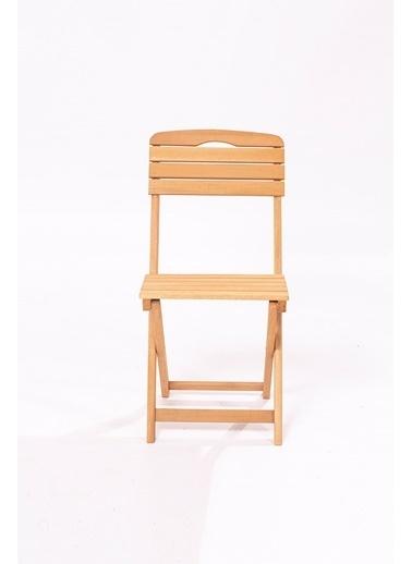 Meya Dekor Minder Hediye Balkon Bahçe 3'lü Katlanabilir Bistro Set 2 Sandalye 1 Bahçe 60x80 Cm Masa Renkli